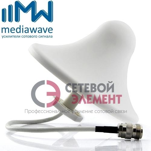 Антенна 800-2700 МГц GSM/3G/4G-LTE - MediaWave MWA-827-CI5