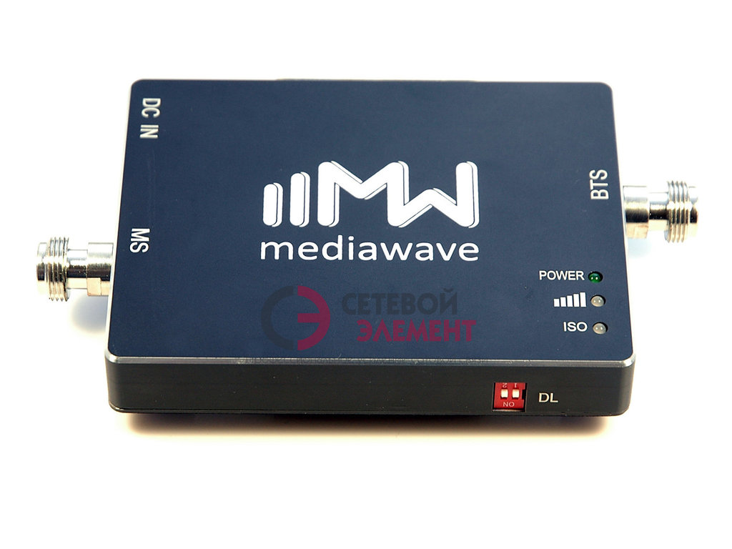 Репитер 800 МГц - 4G-LTE - MediaWave MWS-L8-B23