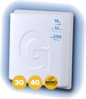 Антенна 1800-2700 МГц 3G/4G-LTE MIMO - Gellan Fullband-15M
