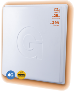 Антенна 1800-2700 МГц 3G/4G-LTE MIMO - Gellan Fullband-20M