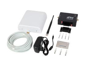Комплект усиления сигнала 1800/2100 МГц GSM/3G/4G MediaWave (MWK-1821-S, до 200 м2)