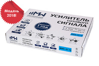 Комплект усиления сигнала 2100 МГц - Cвязь + Интернет 3G (MWK-21-N, до 1000 м2)