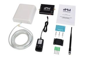 Комплект усиления сигнала 1800 МГц - Cвязь + Интернет 4G (MWK-18-S, до 200 м2)