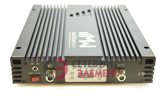 Репитер 5-ти диапазонный 800-2600 МГц EGSM/3G/4G-LTE - MediaWave MW5-826-BM23