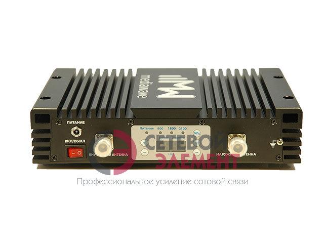 Репитер 900/1800/2100 МГц EGSM/3G/4G-LTE - MediaWave MWT-EGDW-BM30