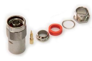 Разъем N-112/10D male, вилка, для кабеля 10D-FB (прижимной)